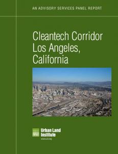 Cleantech Corridor Los Angeles, California