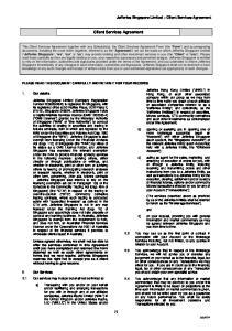 Client Services Agreement
