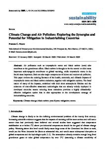 Climate Change and Air Pollution: Exploring the Synergies and Potential for Mitigation in Industrializing Countries
