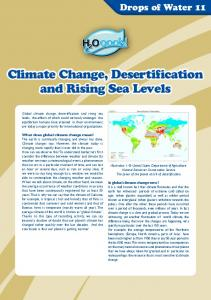 Climate Change, Desertification and Rising Sea Levels