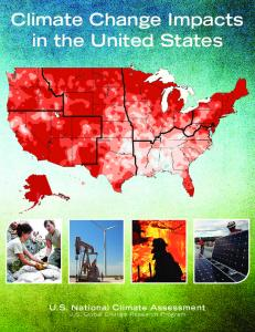 Climate Change Impacts in the United States