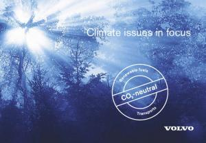 Climate issues in focus