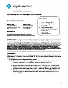 Clinical Policy Title: Infusible agents for osteoporosis