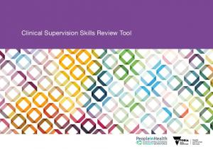 Clinical Supervision Skills Review Tool