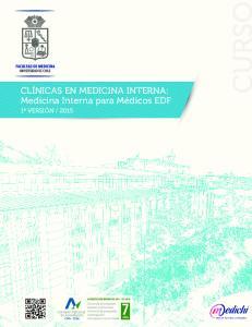 CLÍNICAS EN MEDICINA INTERNA: Medicina Interna para Médicos EDF