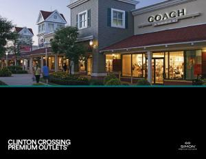 CLINTON CROSSING PREMIUM OUTLETS