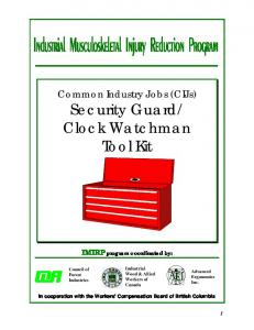 Clock Watchman Tool Kit