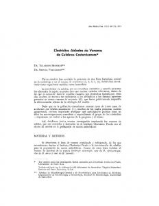 Clostridios Aislados de Venenos de Culebras Costarricenses*