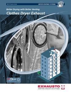Clothes Dryer Exhaust