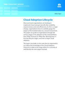 Cloud Adoption Lifecycle