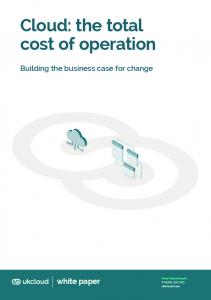 Cloud: the total cost of operation