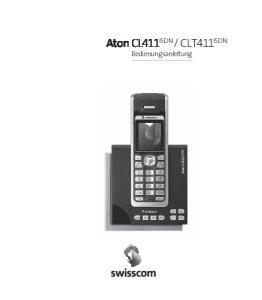 CLT411 ISDN. Bedienungsanleitung