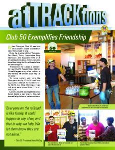 Club 50 Exemplifies Friendship