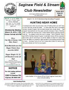 Club Administrative News