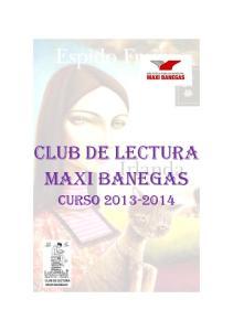 club DE LECTURA MAXI BANEGAS