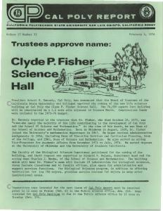 Clyde P. Fisher Science,