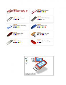CM-1000 USB Flash Drive Monte Carlo