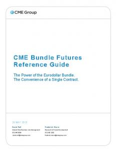 CME Bundle Futures Reference Guide