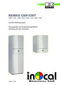 CMT CMF 120, CMF 160, CMT 120, CMT 160