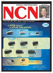 CMYK. National Computrade News. Jan Feb. 14, 2009 CMYK