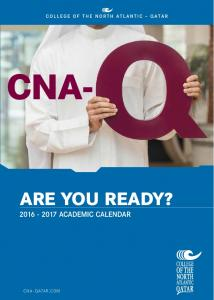 CNA- ARE YOU READY? CNA QATAR.COM