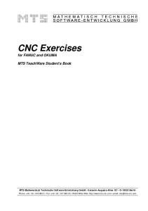 CNC Exercises for FANUC and OKUMA