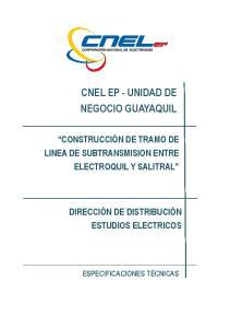CNEL EP - UNIDAD DE NEGOCIO GUAYAQUIL