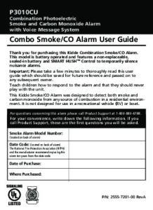 CO Alarm User Guide