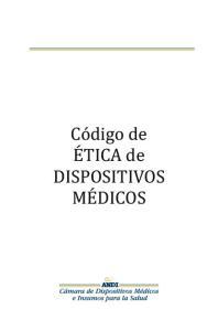 Co digo de ETICA de DISPOSITIVOS MEDICOS