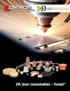 CO2 laser consumables Trumpf