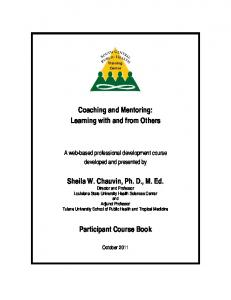 Coaching and Mentoring: Learning with and from Others