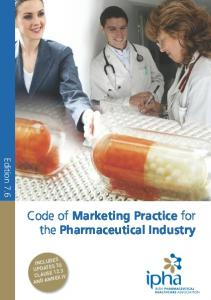Code of Marketing Practice for the Pharmaceutical Industry
