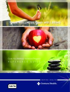 Code You Wellness Incentive Program