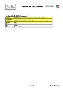 Codelisten vom Typ 3 - Grundbuch