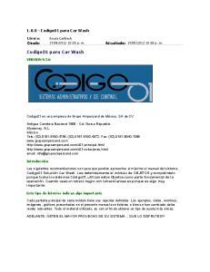 Codigo01 para Car Wash