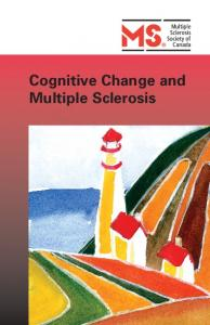 Cognitive Change and Multiple Sclerosis
