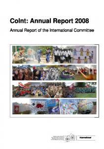CoInt: Annual Report 2008
