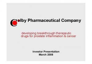 Colby Pharmaceutical Company