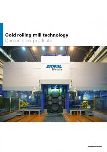 Cold rolling mill technology Carbon steel products