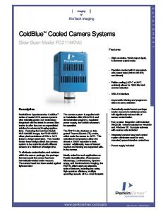 ColdBlue TM Cooled Camera Systems