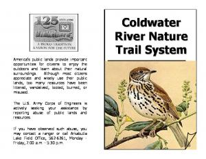 Coldwater River Nature Trail System