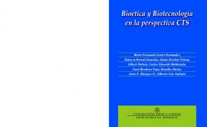 COLECCIÓN BÍOS Y ETHOS EDICIONES EL BOSQUE