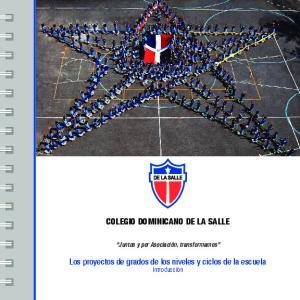COLEGIO DOMINICANO DE LA SALLE