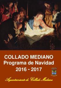 COLLADO MEDIANO Programa de Navidad