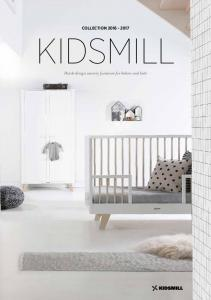 COLLECTION KIDSMILL Dutch design nursery furniture for babies and kids
