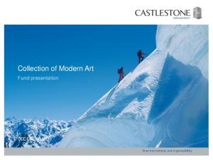 Collection of Modern Art. Fund presentation