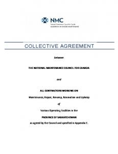 COLLECTIVE AGREEMENT