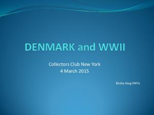 Collectors Club New York 4 March Birthe King FRPSL