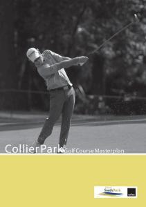 Collier Park Golf Course Masterplan