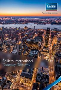 Colliers International Company Overview